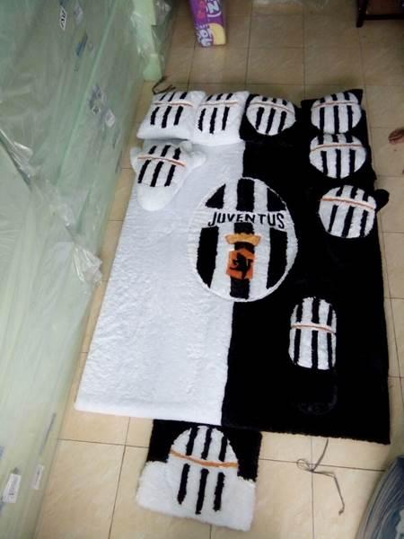 Karpet rasfur Motif Juventus