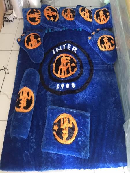 Karpet rasfur Motif Inter Milan
