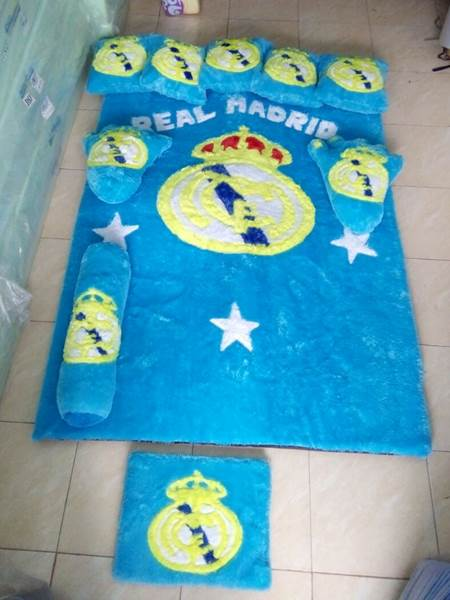 Karpet rasfur Motif Real Madrid 01