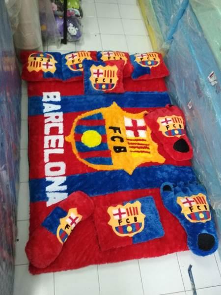 Karpet rasfur karakter Barcelona 01