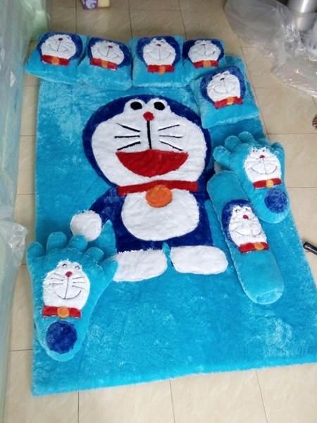 Karpet rasfur karakter Doraemon 01
